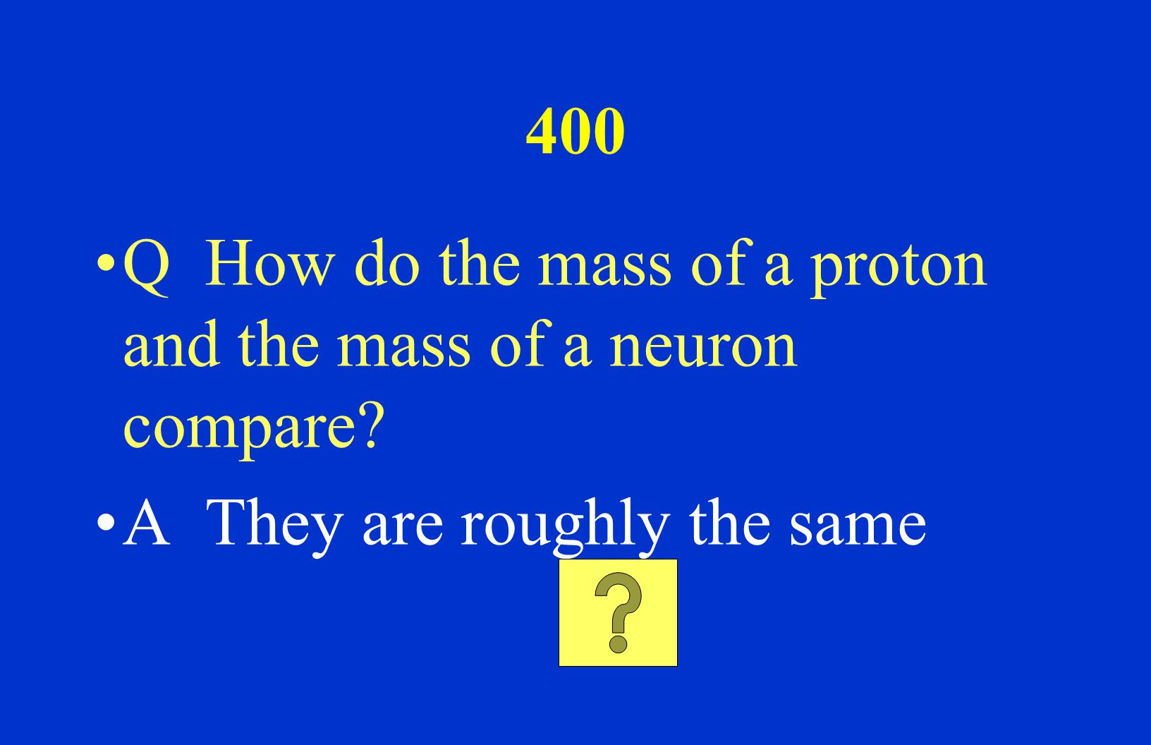 200 Q Which type of radiation has the least penetrating power? A Alpha