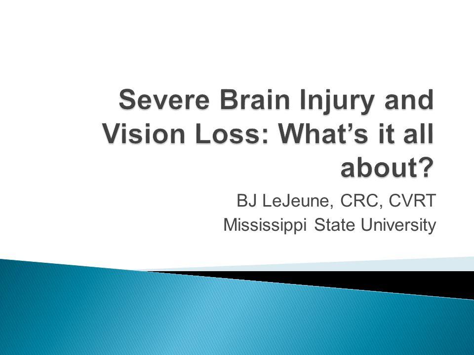 BJ LeJeune, CRC, CVRT Mississippi State University