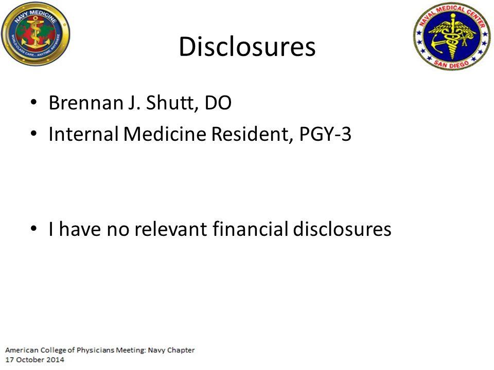 Disclosures Brennan J.