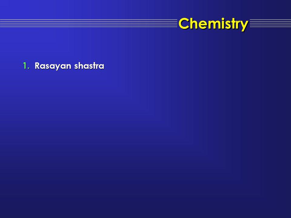 Chemistry 1.Rasayan shastra