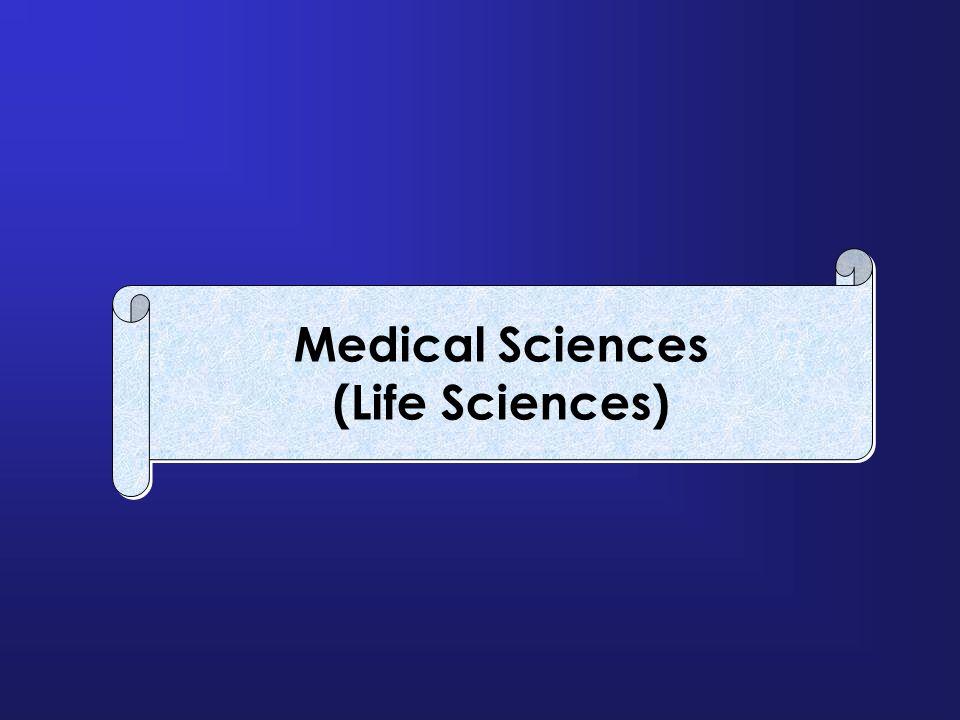Medical Sciences (Life Sciences) Medical Sciences (Life Sciences)