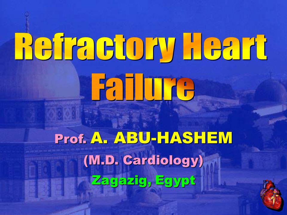 Prof. A. ABU-HASHEM (M.D. Cardiology) Zagazig, Egypt