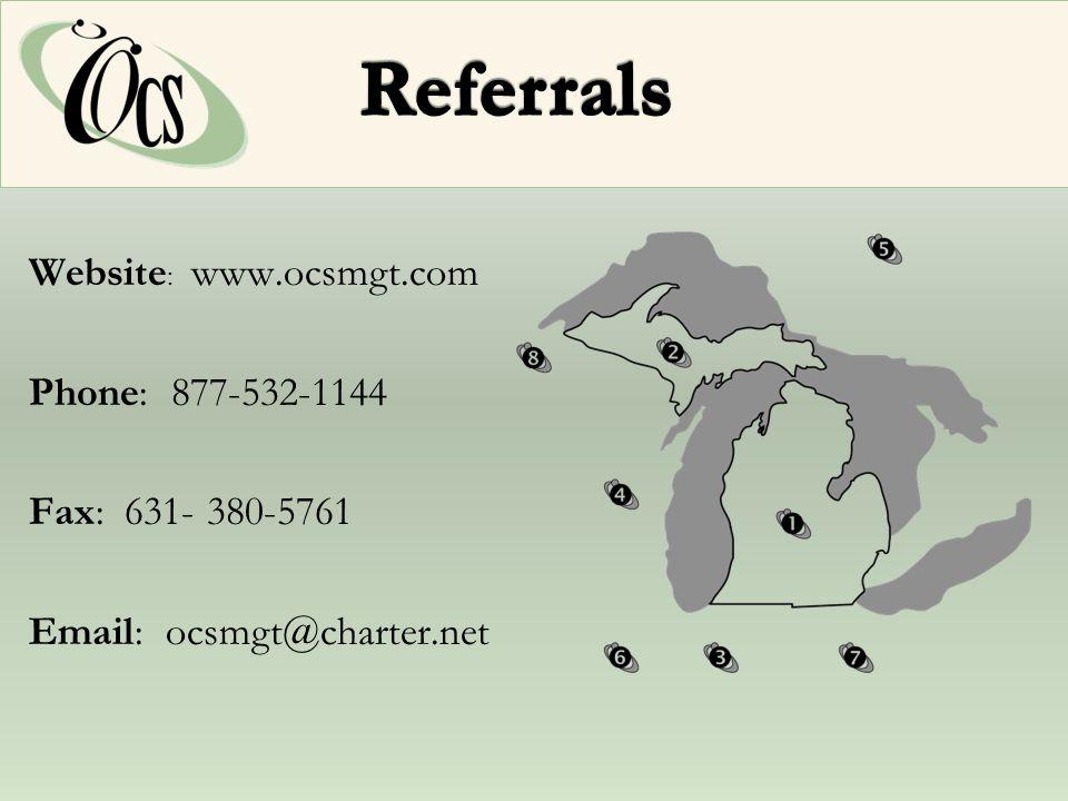 Website : www.ocsmgt.com Phone: 877-532-1144 Fax: 631- 380-5761 Email: ocsmgt@charter.net