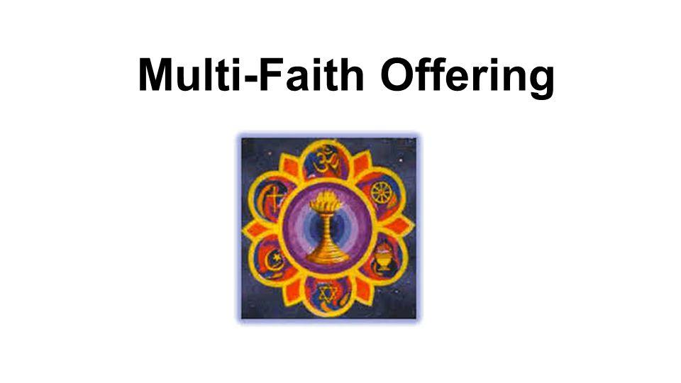 Multi-Faith Offering