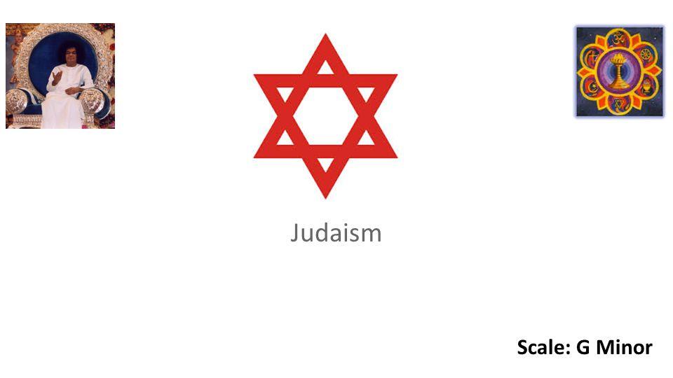 Judaism Scale: G Minor