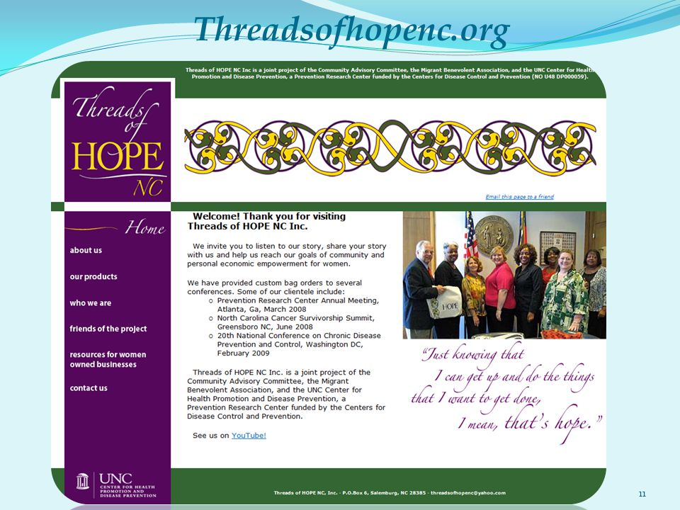Threadsofhopenc.org 11