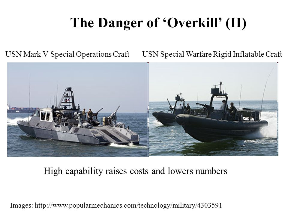 USN Mark V Special Operations CraftUSN Special Warfare Rigid Inflatable Craft Images: http://www.popularmechanics.com/technology/military/4303591 The
