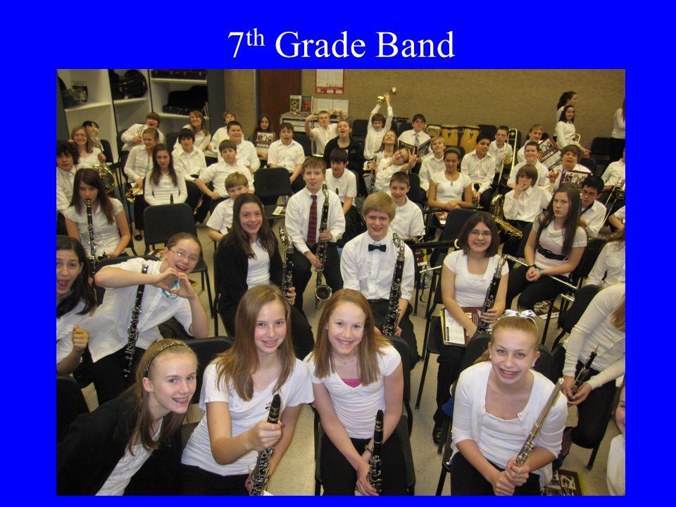 7 th Grade Band