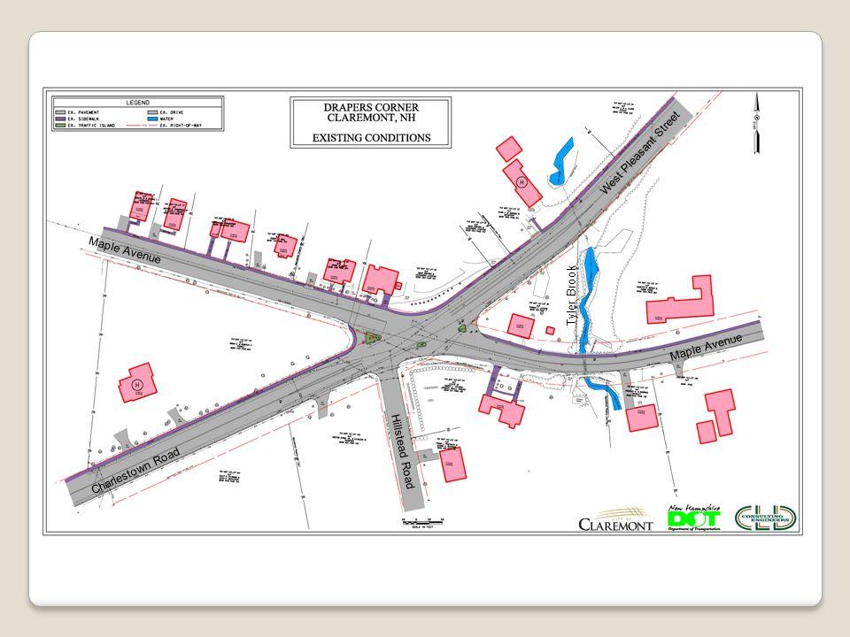 Maple Avenue Hillstead Road Charlestown Road West Pleasant Street Tyler Brook