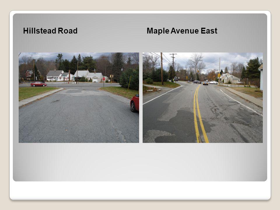 Hillstead RoadMaple Avenue East
