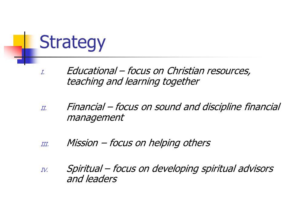 Strategy - Educational I.