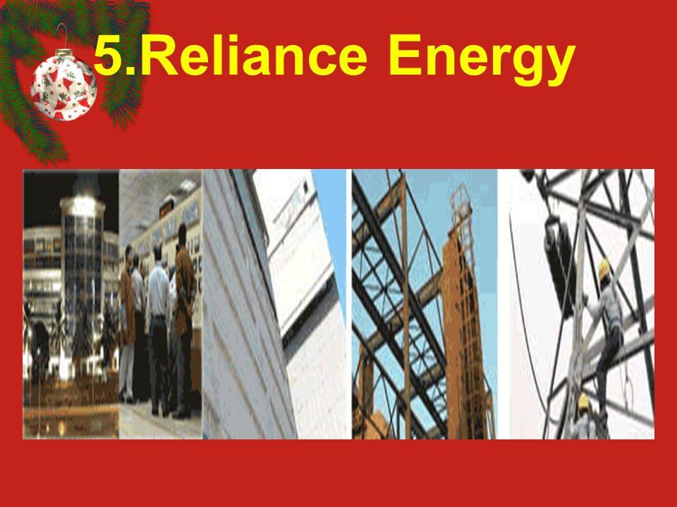 5.Reliance Energy