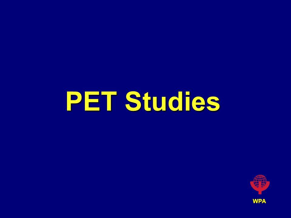 WPA PET Studies