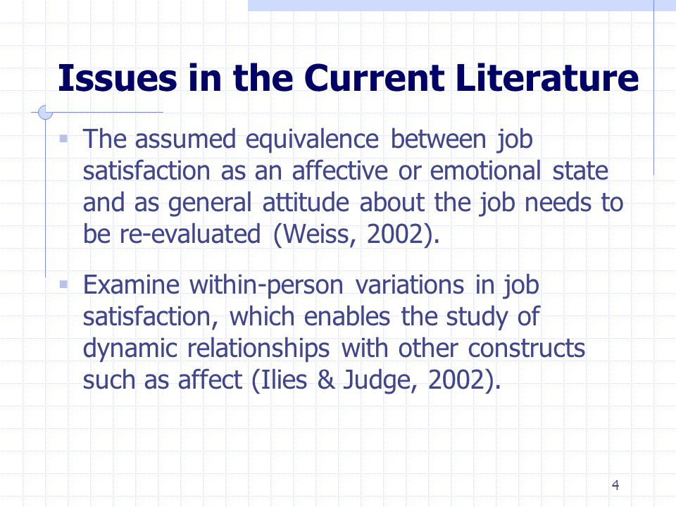 Table 2: Regression of Average ES Job Satisfaction on Affect and Beliefs Notes: N = 33.