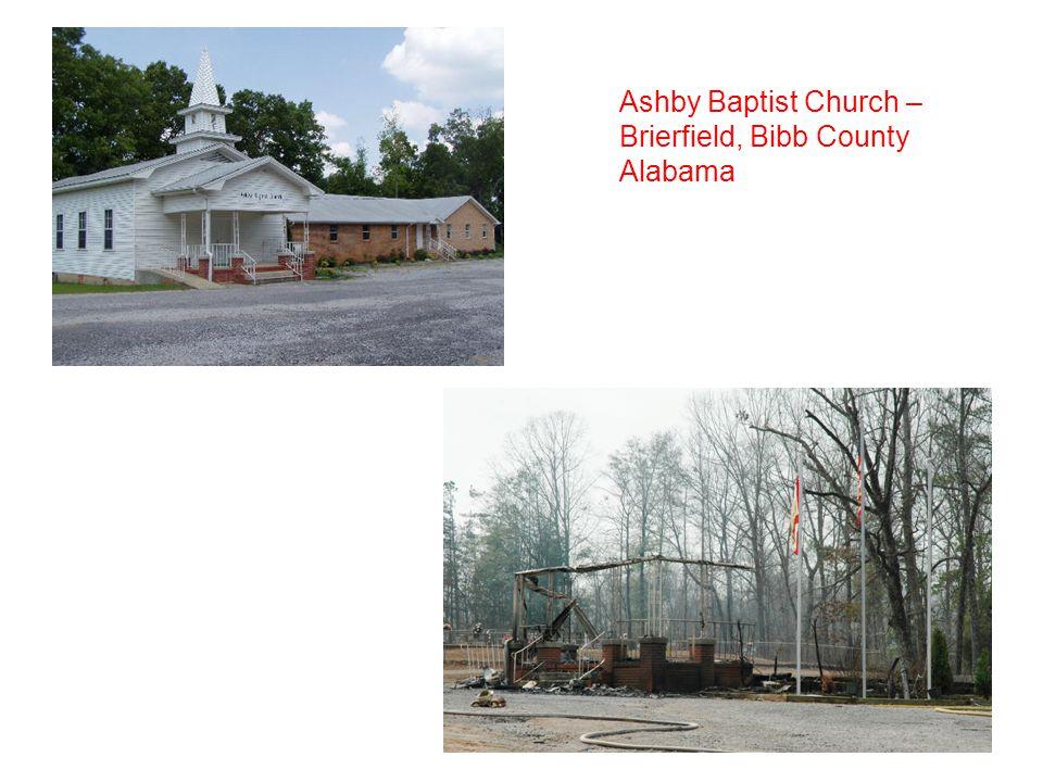 Ashby Baptist Church – Brierfield, Bibb County Alabama