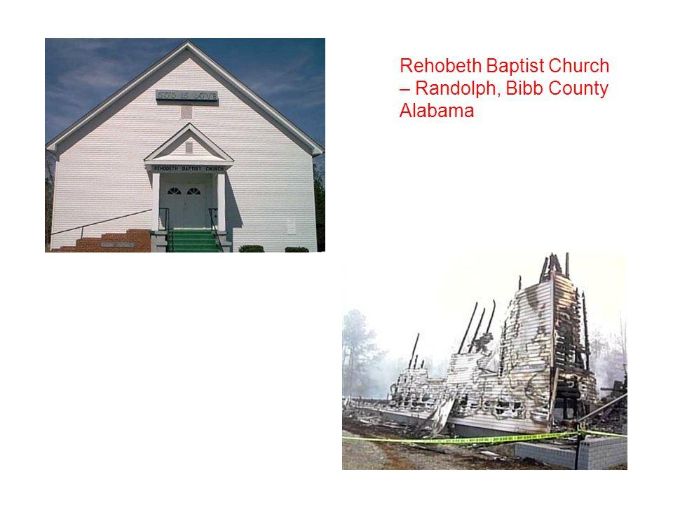 Rehobeth Baptist Church – Randolph, Bibb County Alabama
