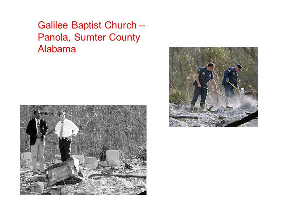 Galilee Baptist Church – Panola, Sumter County Alabama