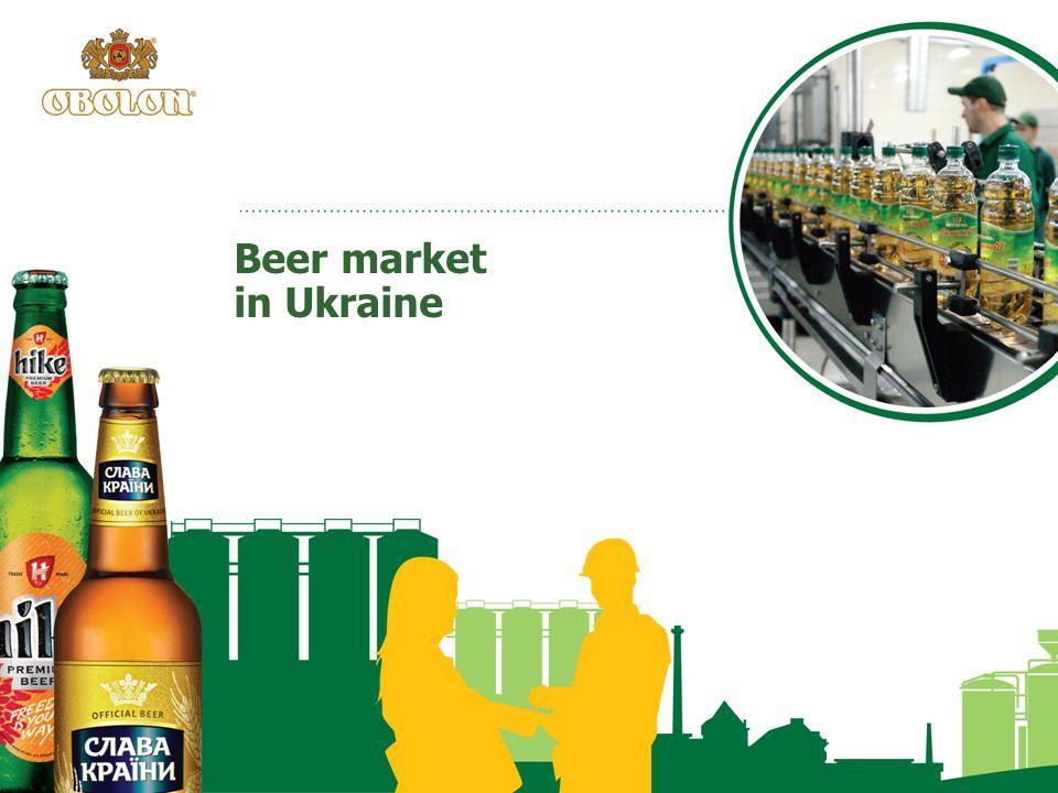 Beer market in Ukraine