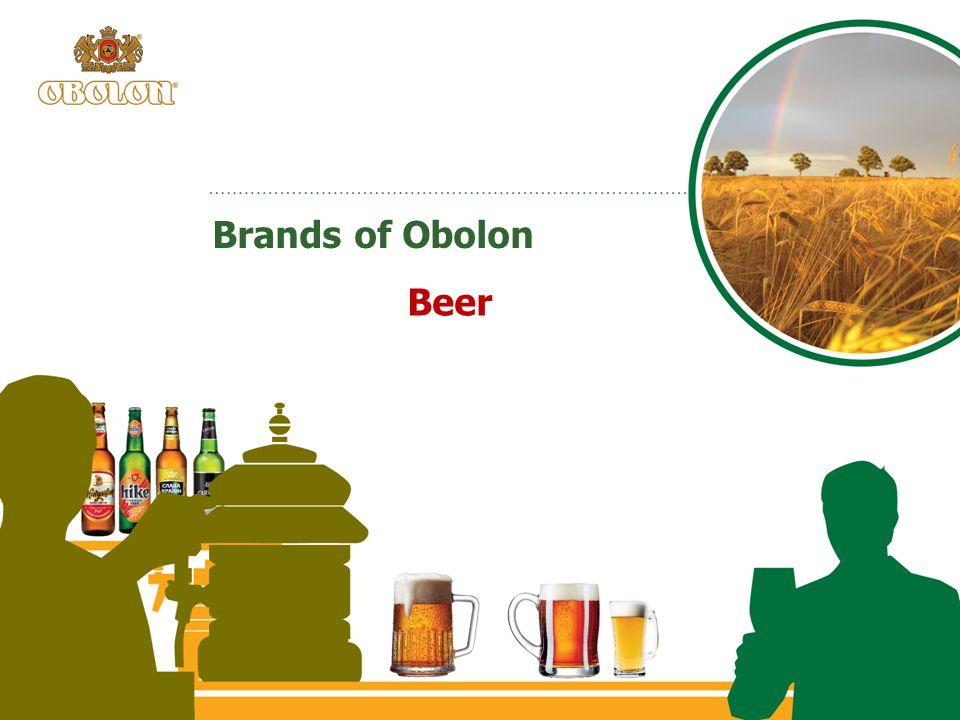 Brands of Obolon Beer
