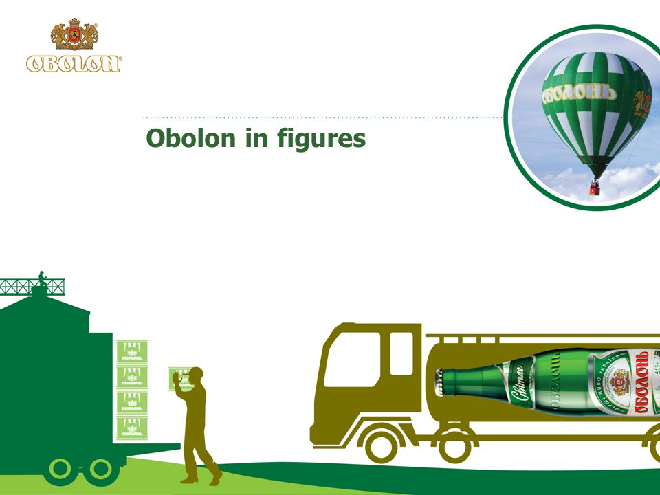 Obolon in figures