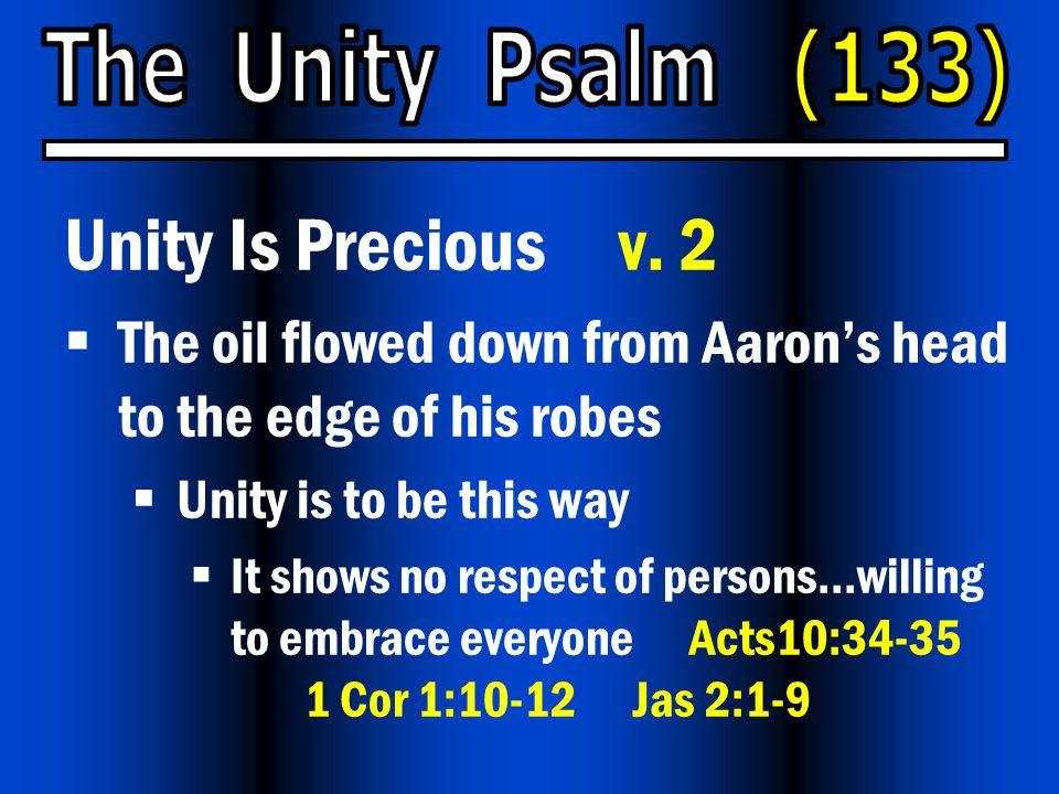 Unity Is Precious v.