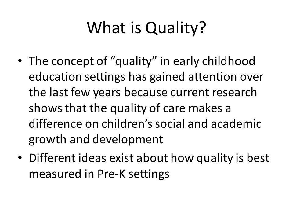 Classroom Quality University of VA CASTL, Grace Funk presentation 12/2007 What.