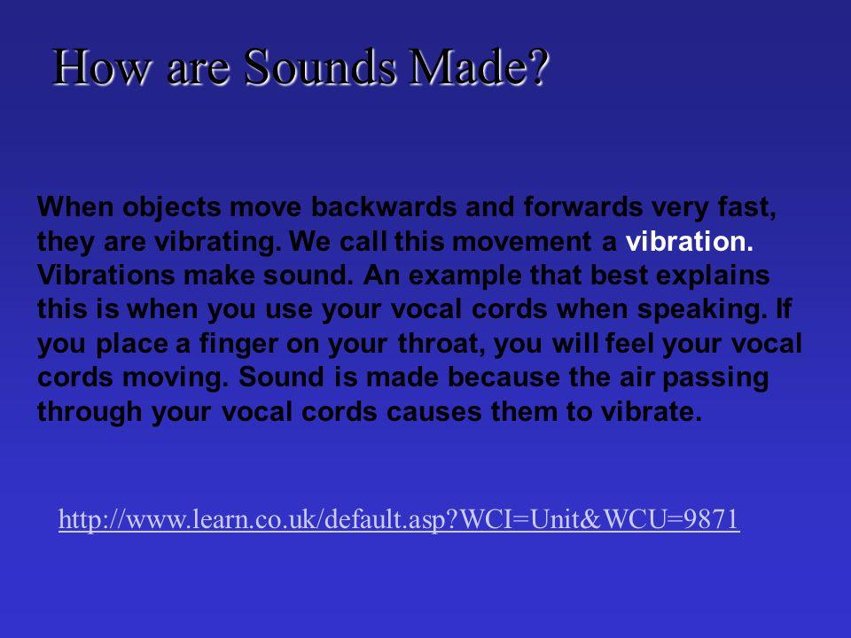 Video of Ear http://www.nidcd.nih.gov/health/education/video/travel_vid.asp