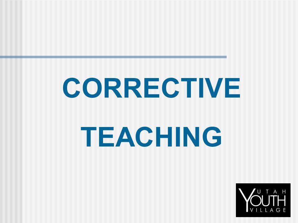 CORRECTIVE TEACHING