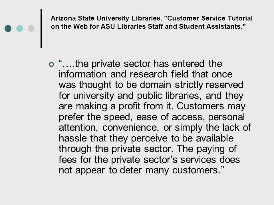 Arizona State University Libraries.
