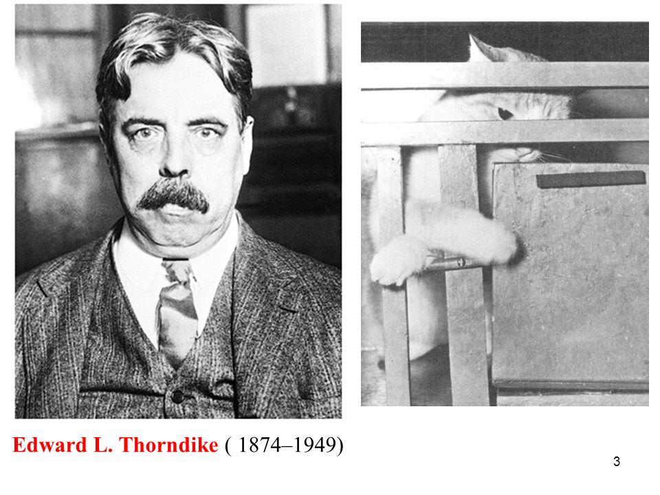 3 Edward L. Thorndike ( 1874–1949)