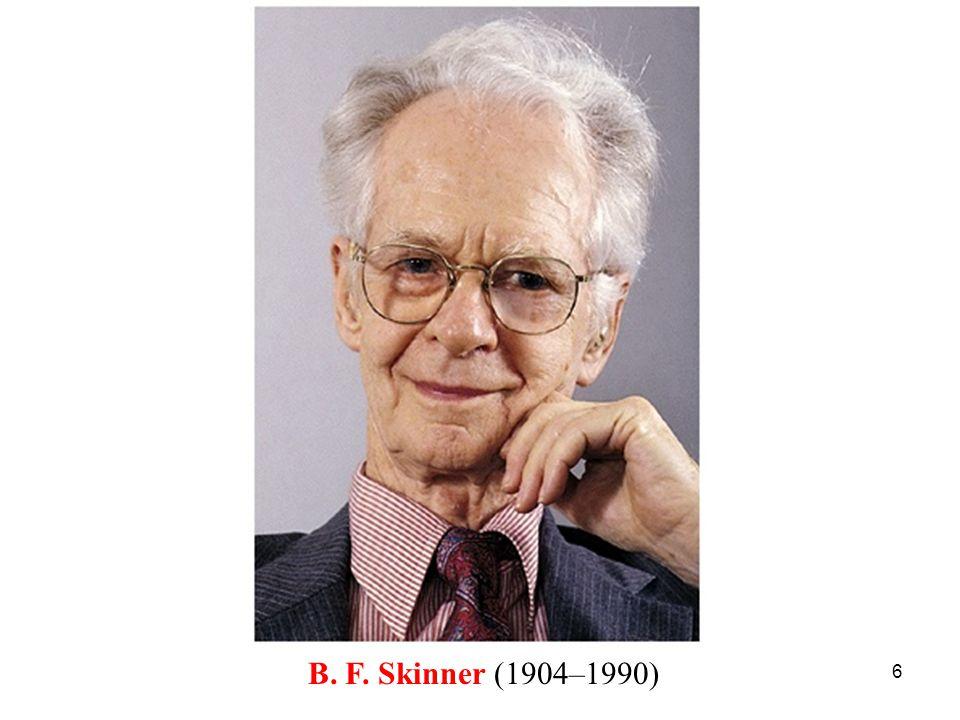 6 B. F. Skinner (1904–1990)