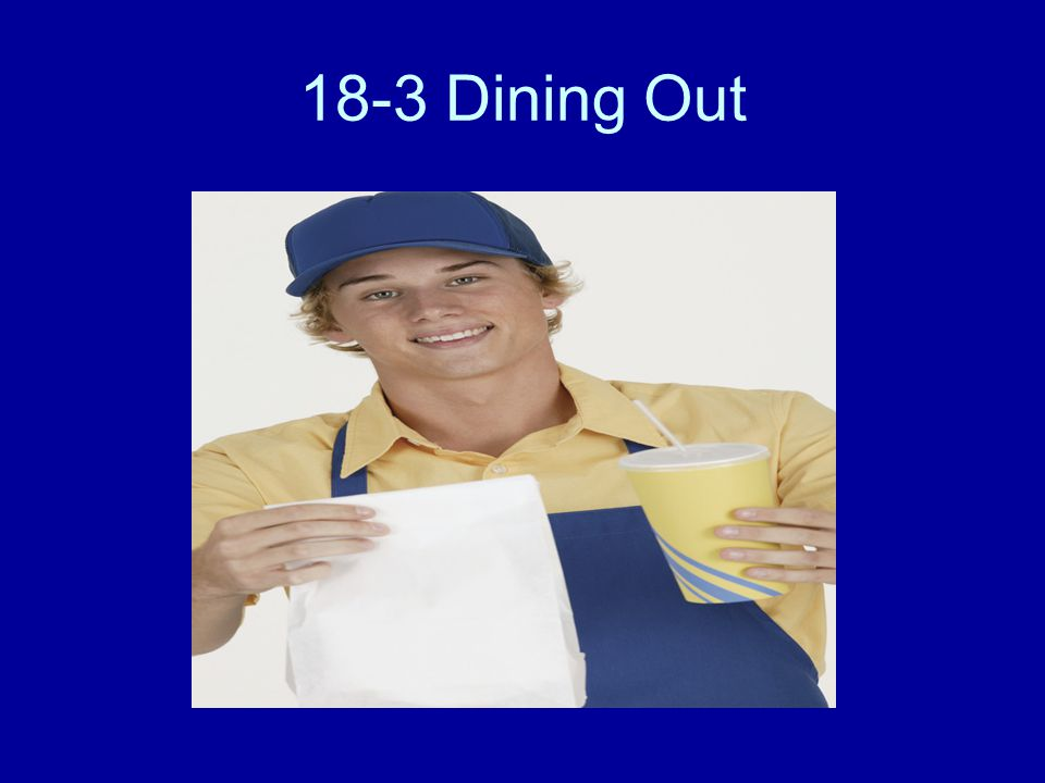 18-3 Dining Out