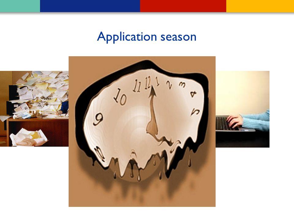 Application season