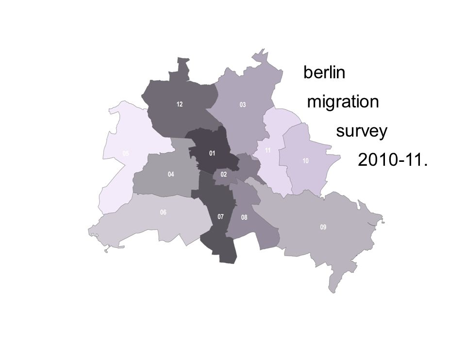 berlin migration survey 2010-11.