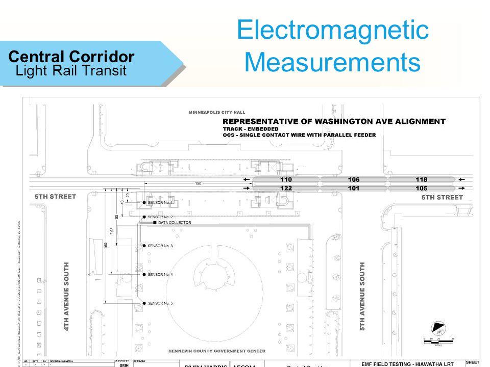 14 Electromagnetic Measurements Light Rail Transit Central Corridor