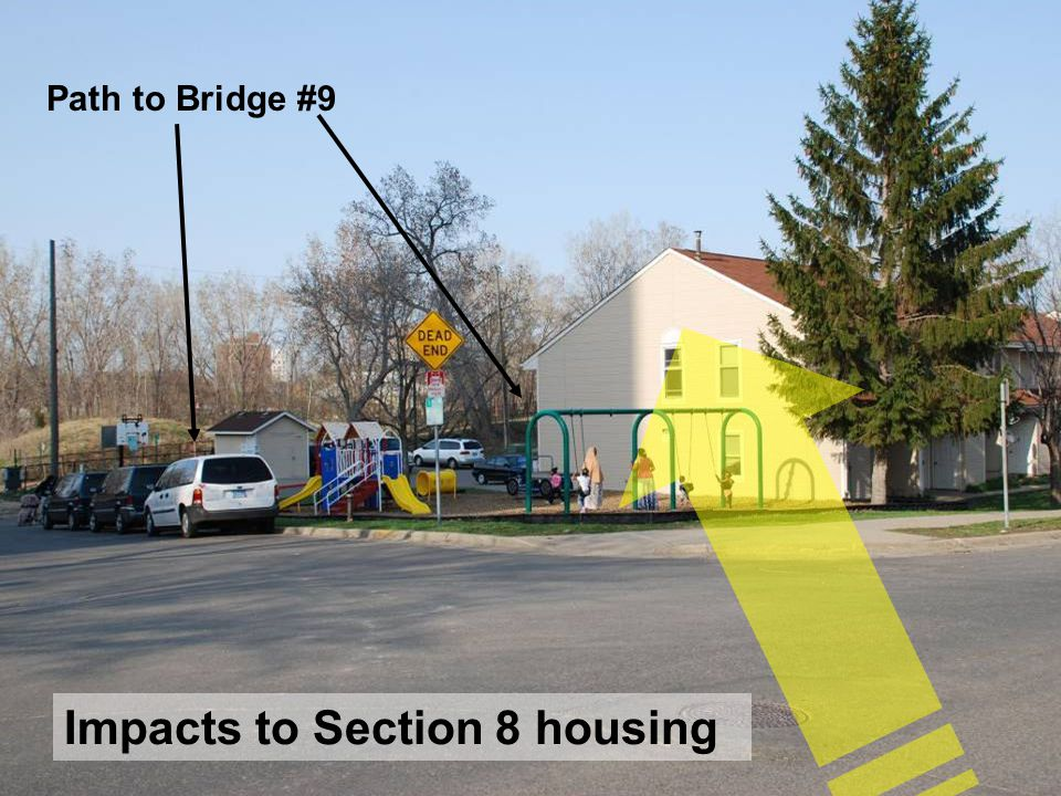 30 Path to Bridge #9 Impacts to Section 8 housing