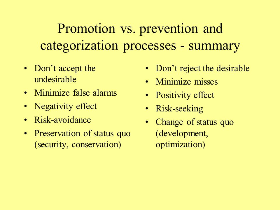 Promotion vs. Prevention and emotions Regulatory modes and the emotional circumplex of Russell and Mehrabian Telic vs. Paratelic motivation