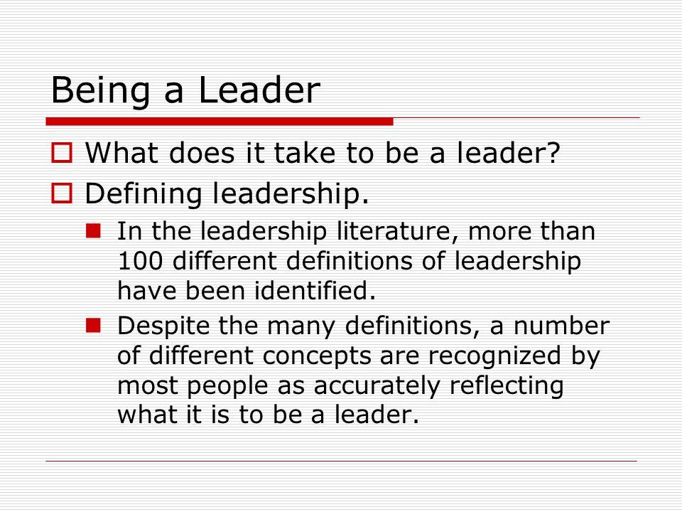 Leadership Skills  Conceptual skills.Problem solving.