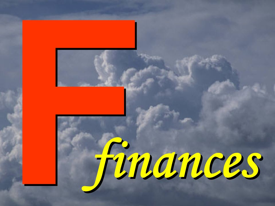 F F finances