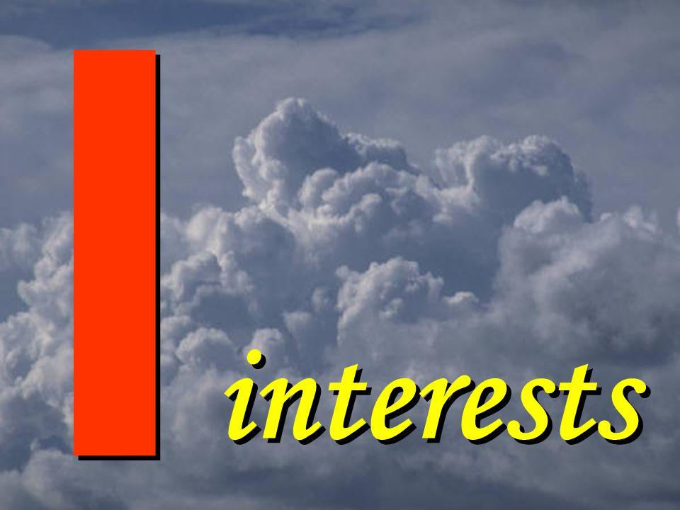 I I interests