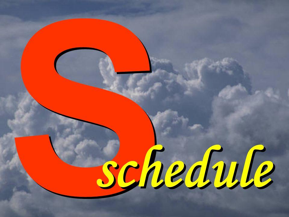 S S schedule
