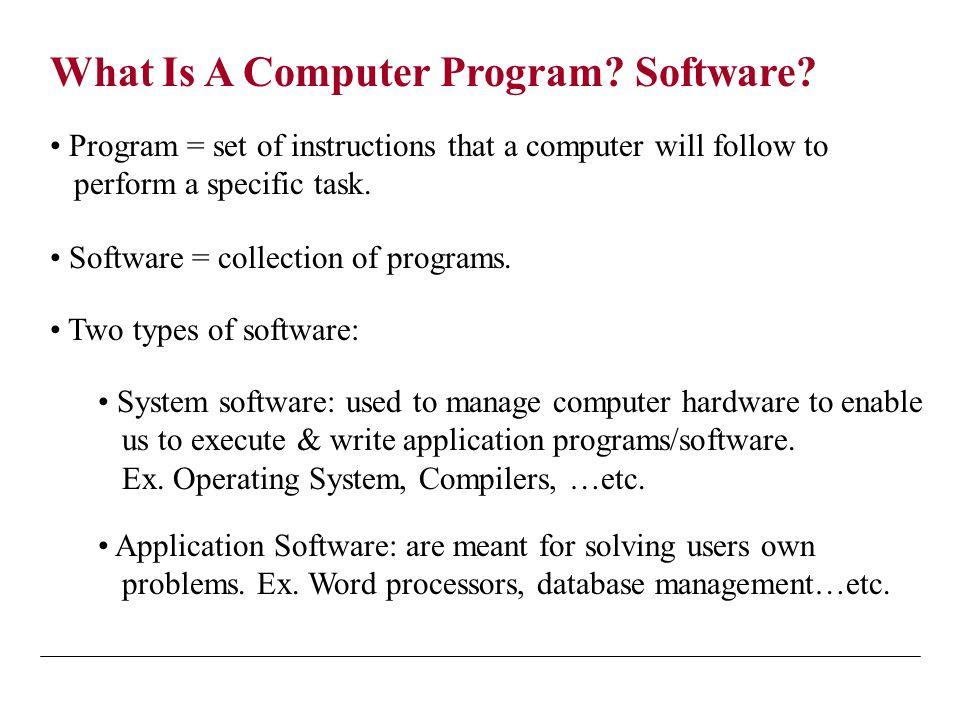 5 Program Development Cycle: 1.Analyze: Define the problem 2.
