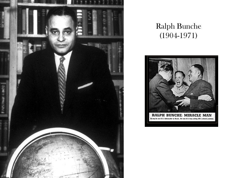 Ralph Bunche (1904-1971)