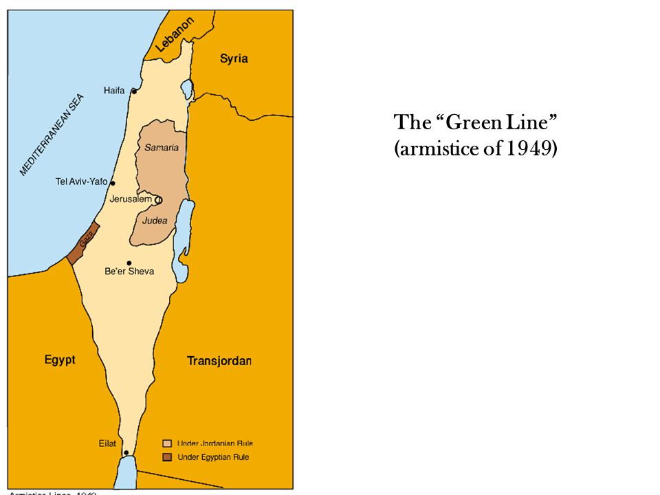 The Green Line (armistice of 1949)