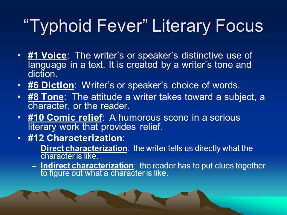 Literary Focus #2 Voice: __________?___________