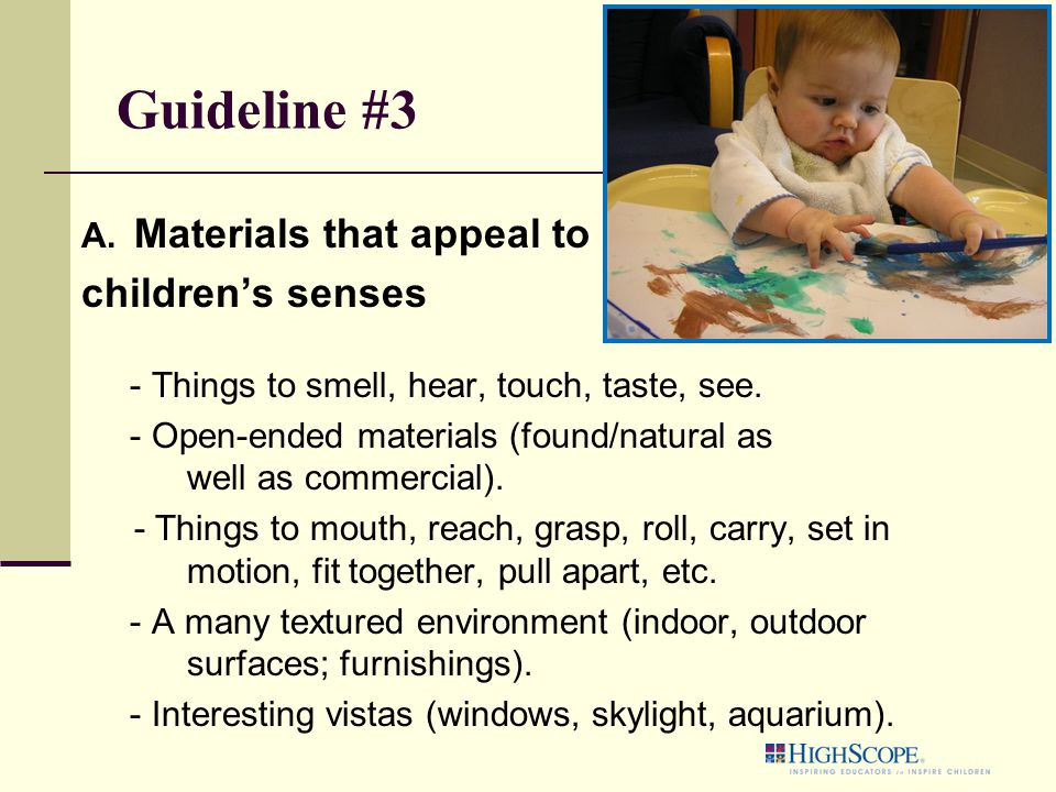 Guideline #3 A.