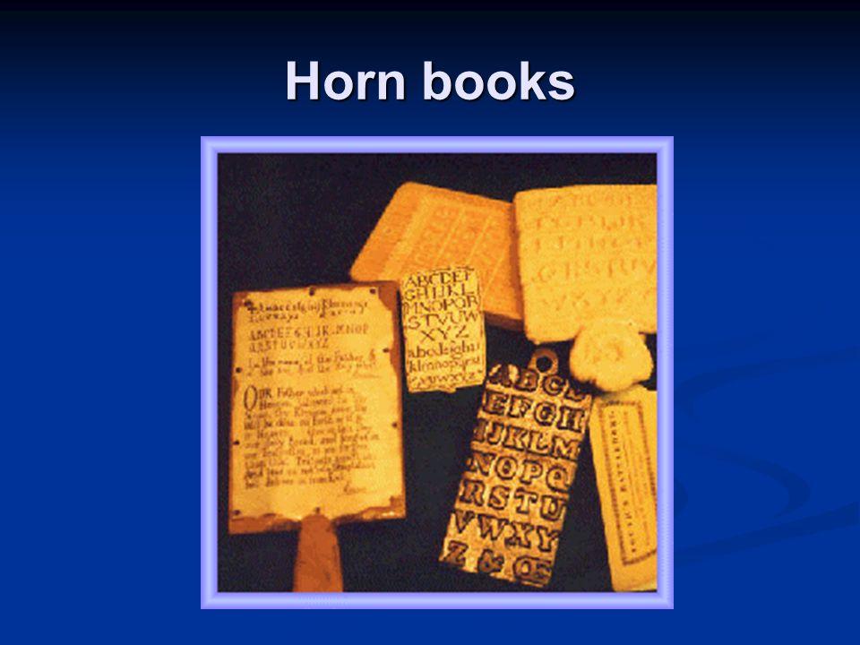 Horn books