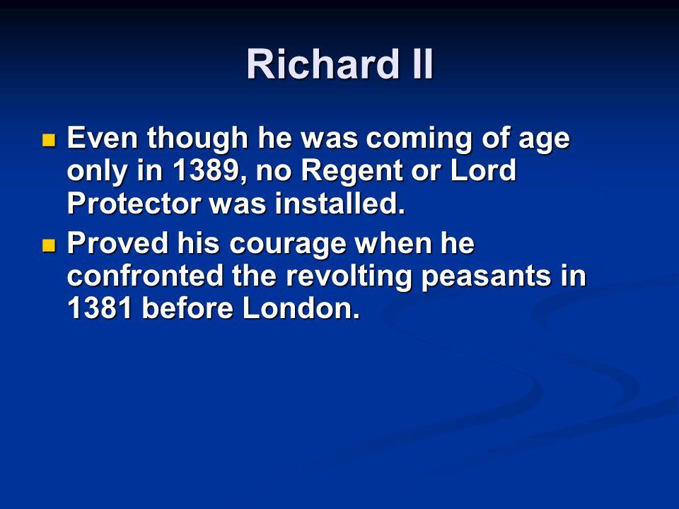 The Peasants's Revolt 1381