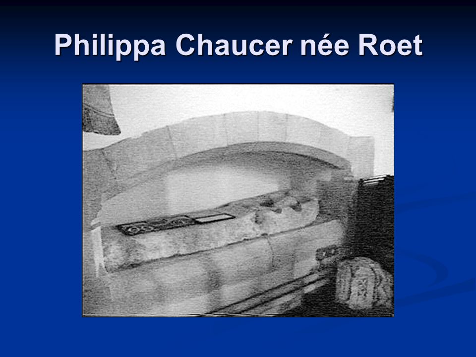 Philippa Chaucer née Roet