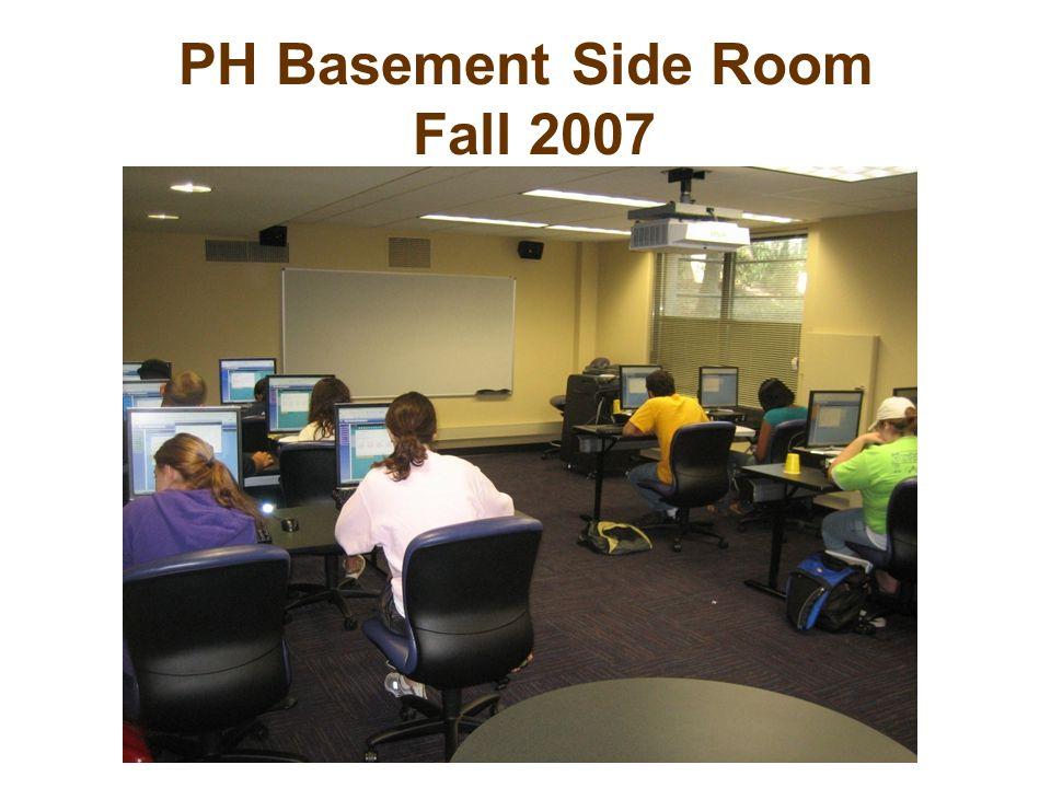 PH Basement Side Room Fall 2007